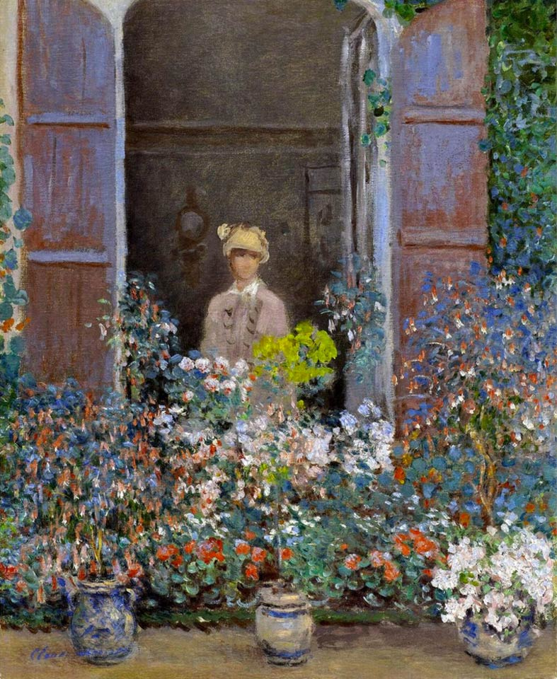 Camille-Monet-at-the-Window-Argentuile-1873